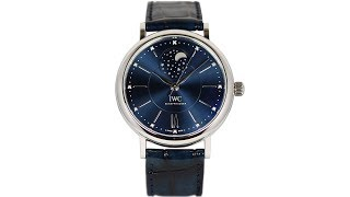видео IWC Portofino Automatic Moon Phase 37 «Laureus Sport for Good Foundation»
