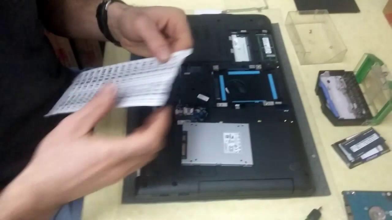 Lenovo ThinkPad E560 SSD AND RAM UPGRADE