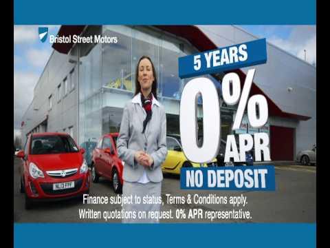 Bristol Street Motors' Advert.