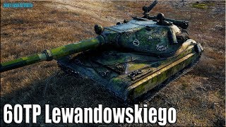 60TP Lewandowskiego как играют статисты World of Tanks