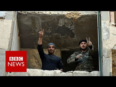 Syria war: Key Aleppo rebel area captured by forces - BBC News