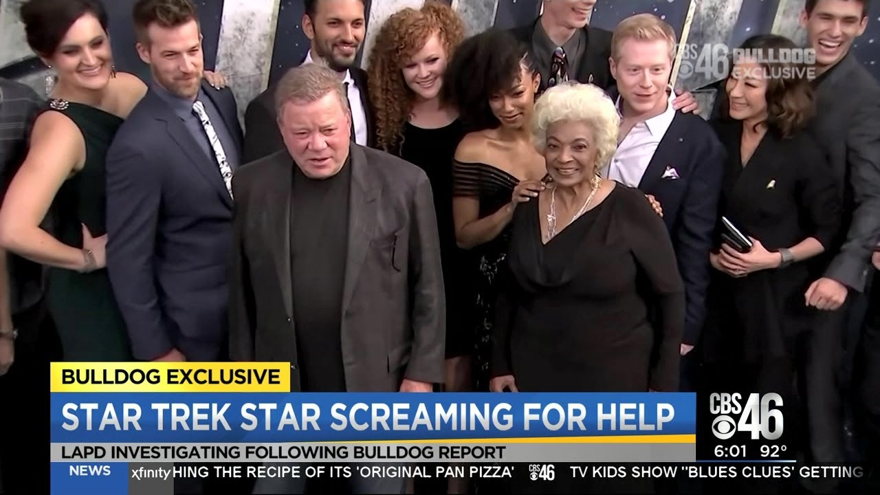 Nichelle Nichols co-stars speak out after her recordings of  screams for help in guardianship battle