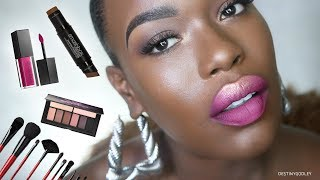 Every Day Makeup for Dark skin Smashbox FULL FACE
