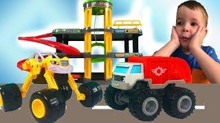 Машинки для детей! Кто не поделил парковку? Тема и машинки для мальчиков