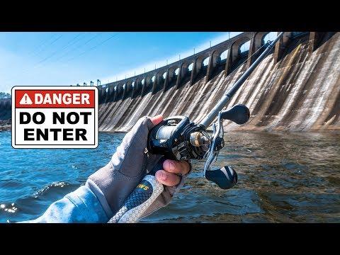 DANGEROUS Fishing Close To A Dam - Sweet Home Alabama Tour Ep. 5