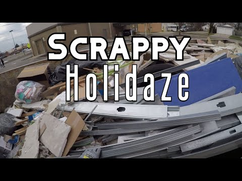 Dumpster Diving and Scrapping Plus Picking a Bed for Zinny