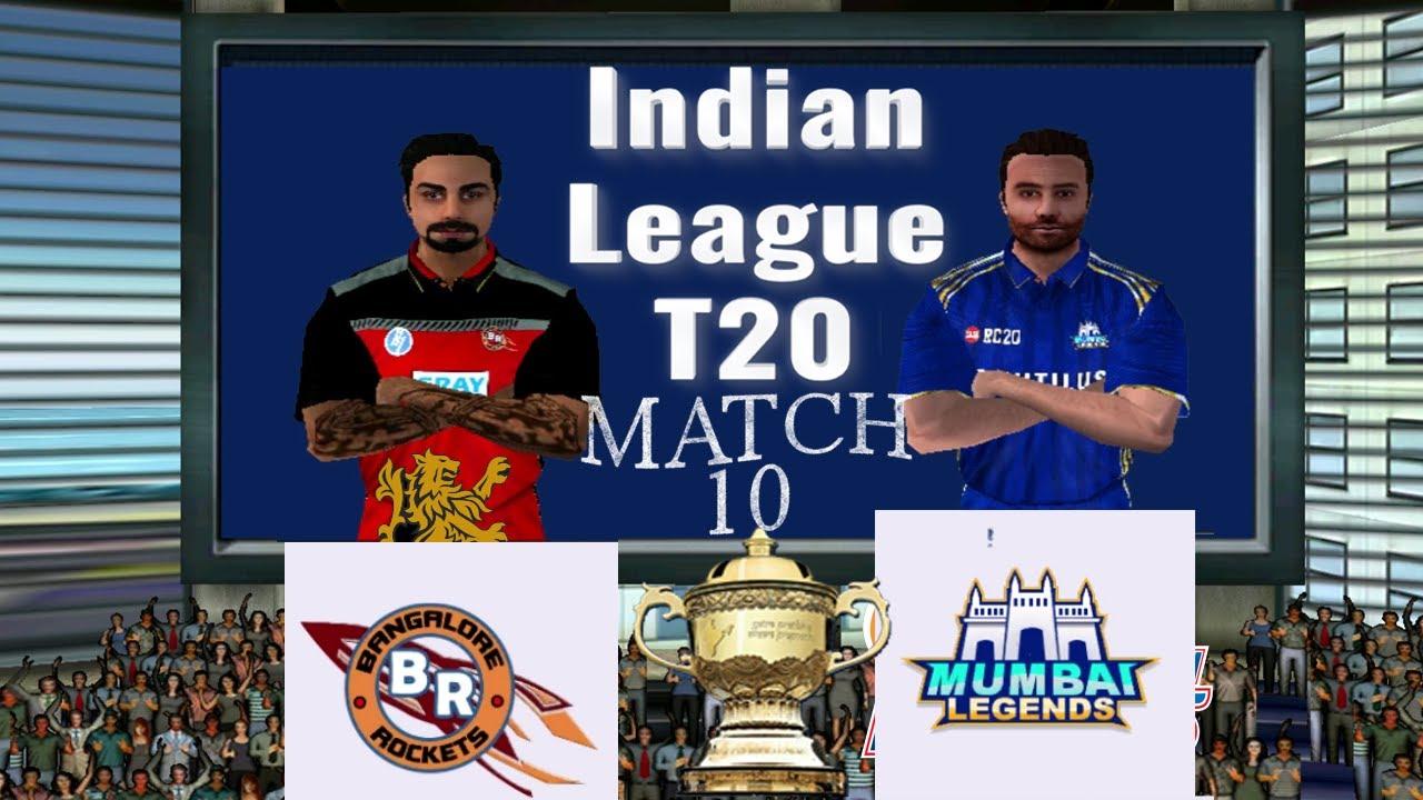 #10 Bangalore vs Mumbai - BAN vs MUM - Indian League Premier 13 Prediction Real Cricket 20