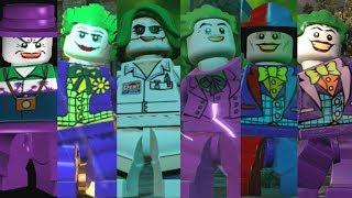 The Joker Evolution in Lego Videogames