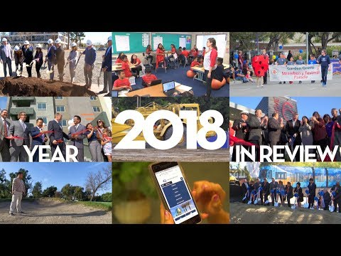 The City of Garden Grove had a Big Year in 2018