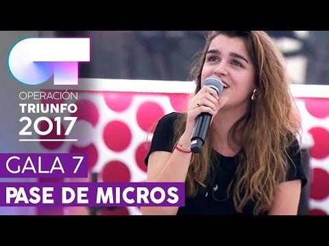 ACROSS THE UNIVERSE - Amaia | Segundo pase de micros para la Gala 7 | OT 2017