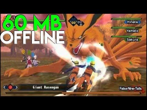 CUMA 70 MB ! Game Naruto OFFLINE Terbaik Di Android (Ringan) - 동영상