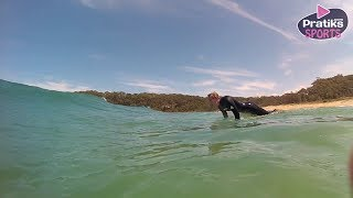Surf - How to make the chicken dive (or duck diving)
