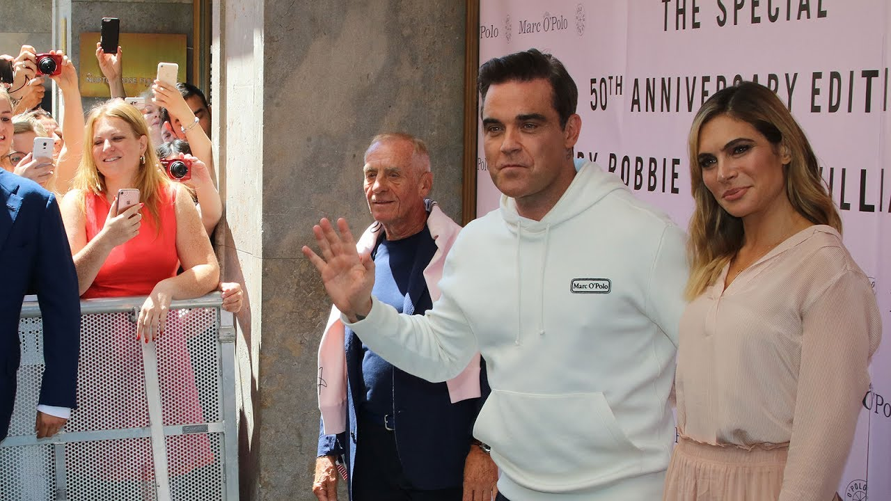 shopping best website latest Ayda & Robbie Williams x Marc O'Polo Collection Launch ...