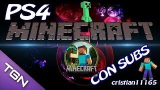 MINECRAFT PS4 CON SUBS - NUEVA SERIE, UNETE CON NOSOTROS - Español HD