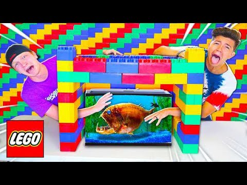 EXTREME LEGO WHATS IN THE BOX CHALLENGE!
