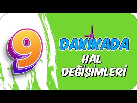 9dk'da HAL DEGISIMLERI