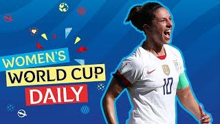Lloyd's double puts USA through to Round of 16 | Women's World Cup Daily