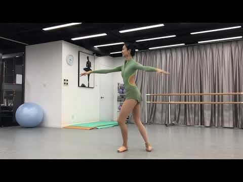 pointe shoes center work LuDi