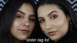 SIBLING TAG + DOING MY SISTERS MAKEUP   Krystal Marie thumbnail