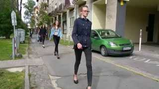 Young models from Exit - walking training