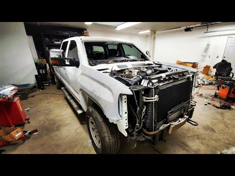 Rebuilding A Rolled 2018 GMC Sierra/DISAPPOINTMENT Prt 22