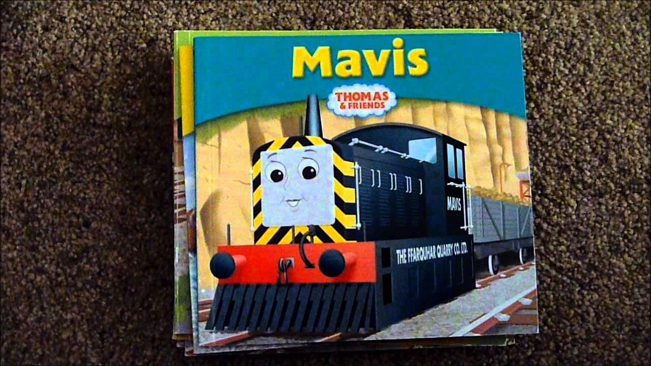 I got My Thomas Story Library books - YouTube