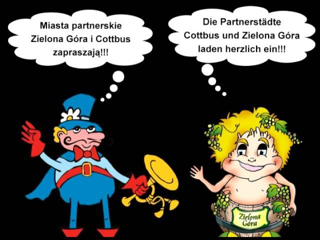 Partnerstädte Cottbus und Zielona Góra