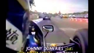Johnny Dumfries in the 1986 JPS Lotus 98T turbo @ Adelaide. F1 Lotus 98T, onboard lap.
