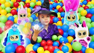 Ищем Пушастиков. Новые игрушки! Большой видео обзор для детей