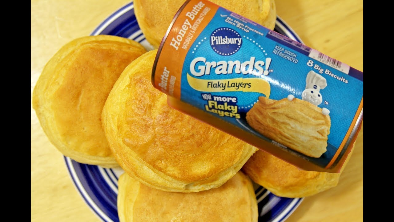 Pillsbury Grands Flaky Layers Honey Butter Biscuits Youtube