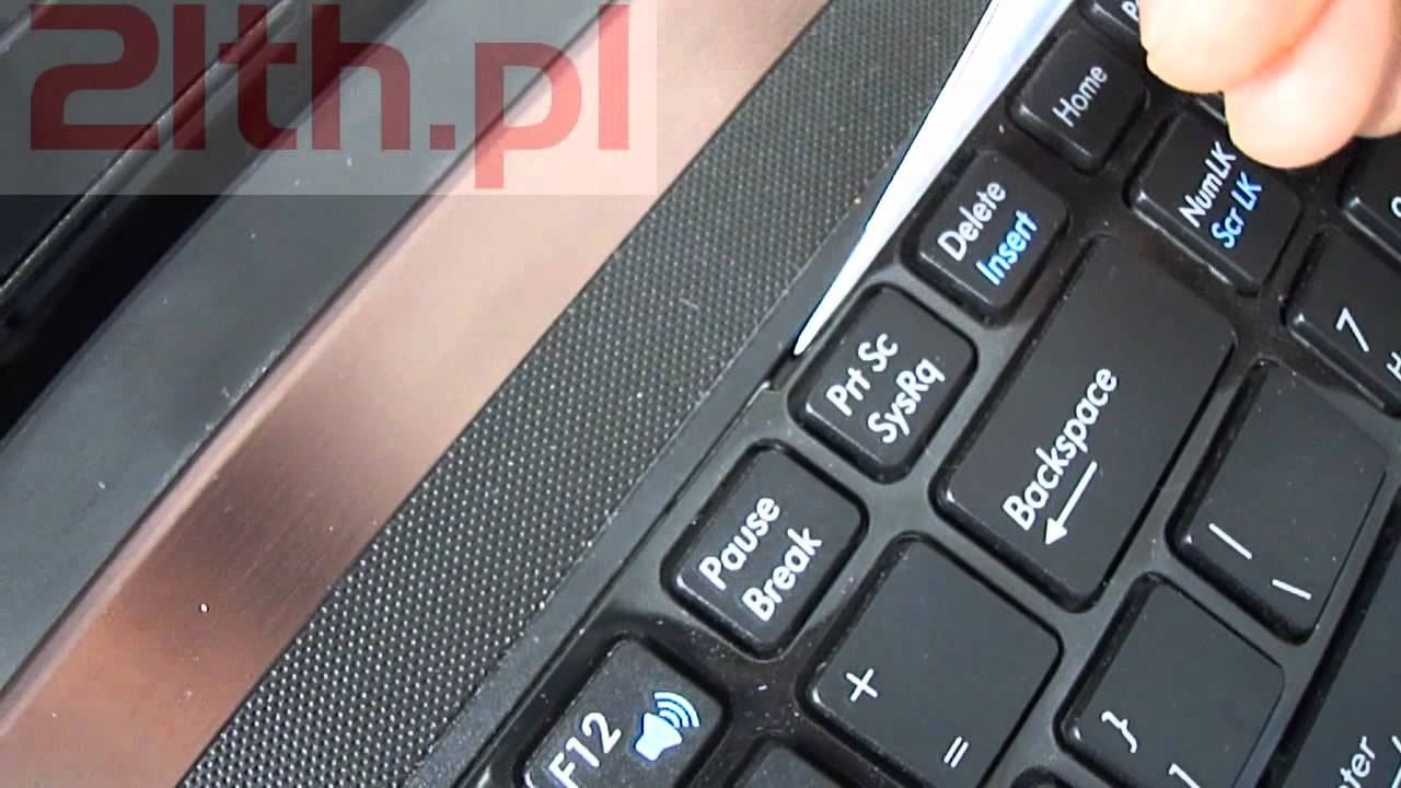 How To Replace Or Remove Keyboard In Asus X53 Keyboard Replacement