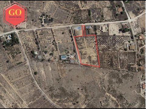 GO Murcia Spain -  4,500m2 Plot of Land For Sale
