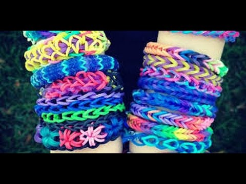 diy comment faire des bracelets avec des lastiques crazloom rainbow loom sokawaiigirl 39 s. Black Bedroom Furniture Sets. Home Design Ideas