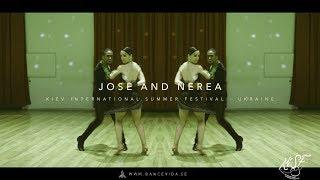 Jose and Nerea salsa Show Kiev Summer Festival