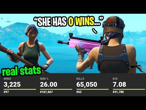 I GUESSED How Many WINS Players Have Before I KILL Them In Fortnite... (very Bad)