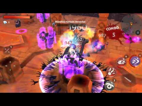 Dungeon Hunter 5 - Gameloft Mobile Online Games For Android And IOS!! (Bounty Hunters) - Snapshot 4