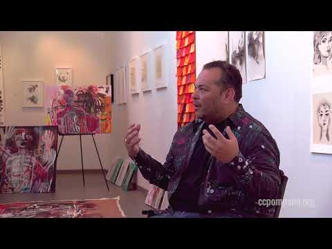 Daniel Garcia Interview: Afrique in the Pompano Beach Cultural center
