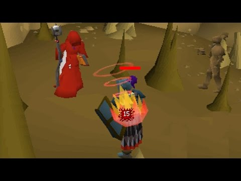 Pking At Earth Warriors in Max [Pure] Mage!