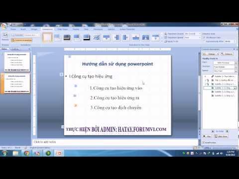 Hướng dẫn sử dụng powerpoint toàn tập (B5)