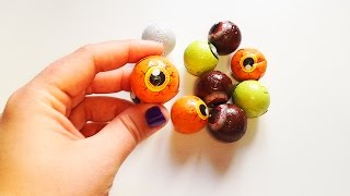 Play and Learn Colours With Eyes Chocolates Halloween Colors for Children to Learn Baby Learn Colour