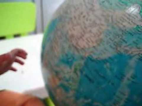 Baby Roy Locates Countries On The Globe (22 mos)