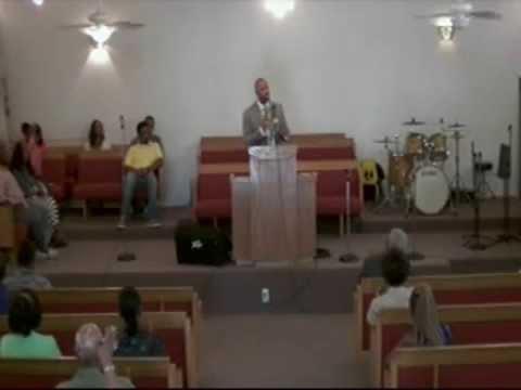 """Bishop Michael Jenkins preaching """"Getting Unstuck"""""""