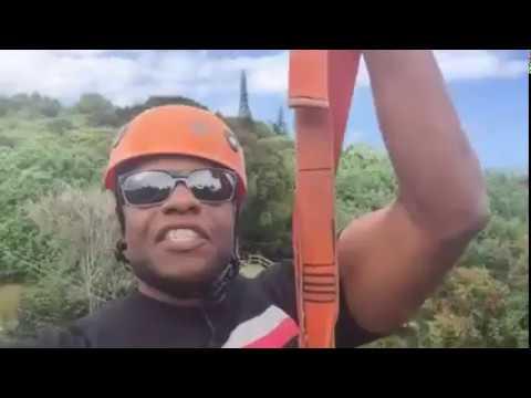 Jungle Zipline Maui Experience Video