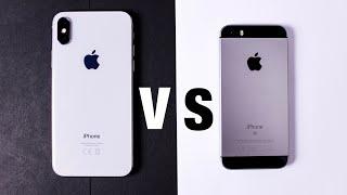 iPhone X vs iPhone SE | im Test | welches iPhone ist das Richtige für dich? | ionitech | (deutsch)