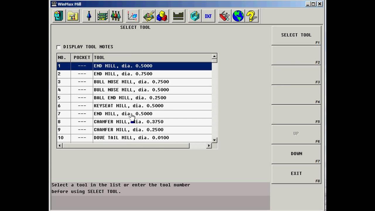 Hurco WinMax - DXF Transfer - CNC Programming