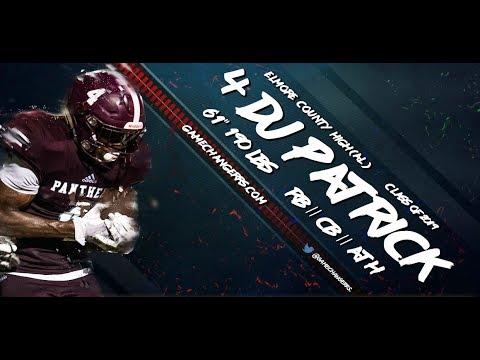 #4 D.J. Patrick / RB, CB / Elmore County High (AL) Class of 2019