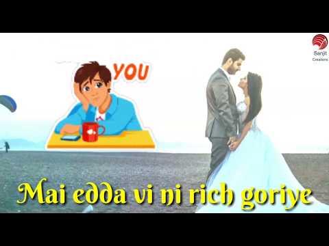 Na kari kich kich goriye | cute whatsapp status video punjabi | 30 sec status |sanjit creations