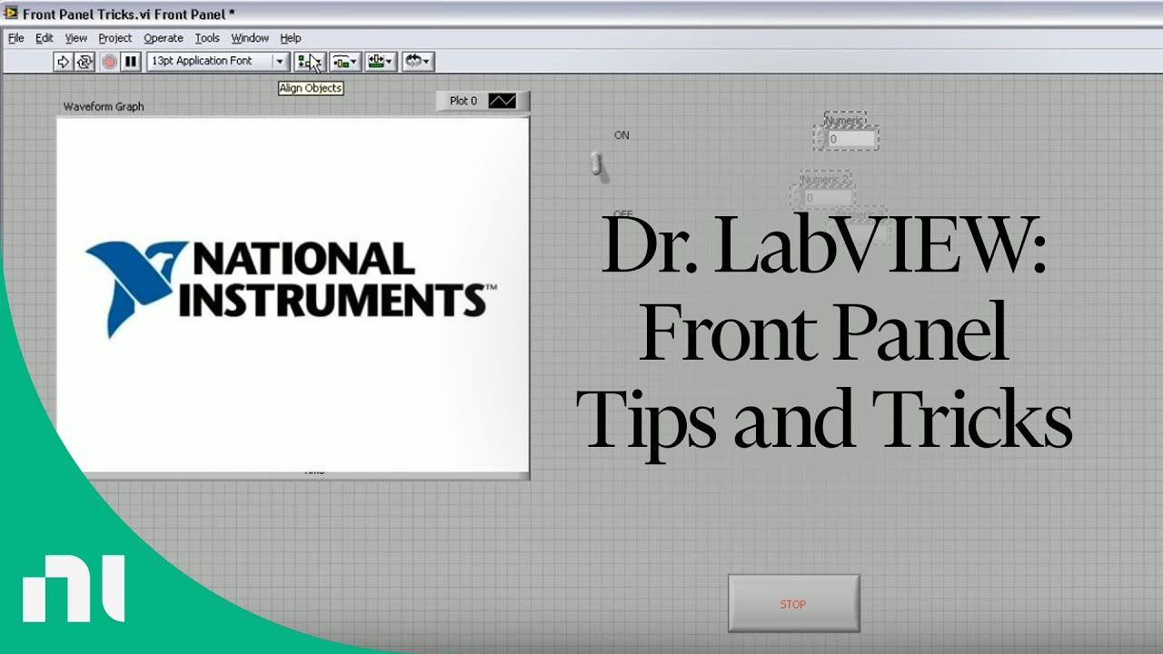 Dr Labview Front Panel Tips And Tricks Youtube