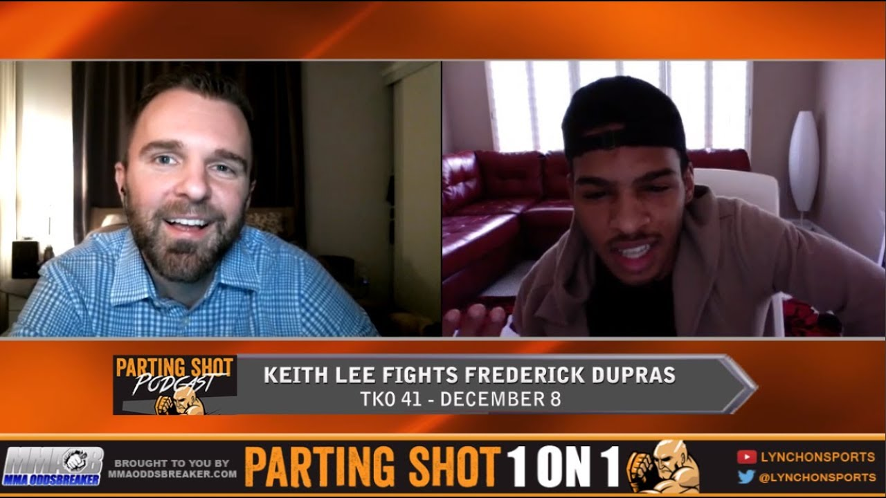 Keith Lee talks TKO 41 Matchup Dec. 8 and Training with UFC's Tim Elliott