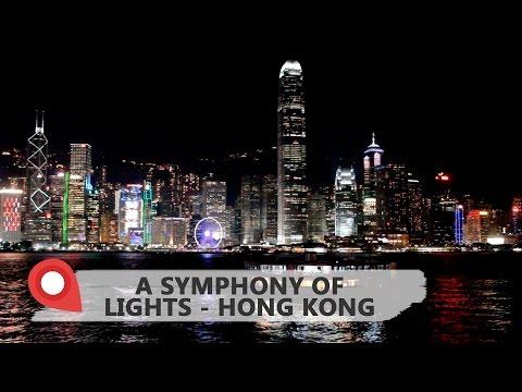 Show de luzes em Hong Kong: A Symphony of Lights